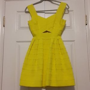 Hot and Delicious yellow dress